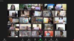 IWPG Sebarkan Pesan Perdamaian Melalui Seni kepada Anak-Anak Indonesia