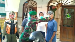 Di Kecamatan Sukomanunggal, Yustisi Protokol Kesehatan Terus Berlanjut