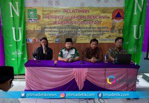 LPBI NU DKI Jakarta dan BPBD Latih Masyarakat Siaga Bencana