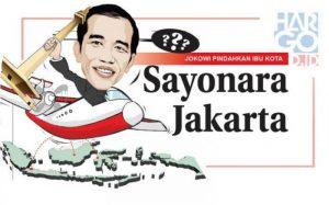Ibukota Negara, Sayonara Jakarta