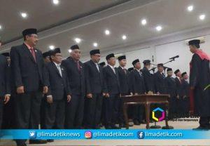 Anggota DPRD Bondowoso Resmi Dilantik