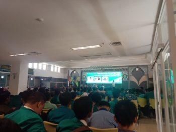 """Seminar di Unisma Mengangkat Tema """"Peran Mahasiswa Dalam Mencegah Faham Radikalisme di lingkungan Kampus Untuk Menjaga Keutuhan Bangsa"""""""