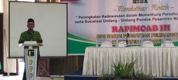 Beri Pendidikan Politik, DPC PPP Bondowoso Gelar Rapimcab III