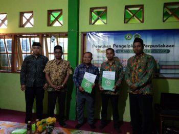 Perpustakaan SMA Plus Miftahul Ulum Tarate Sumenep Bangun Kerjasama dengan Perpustakaan STKIP PGRI
