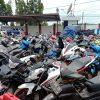 Satreskrim Polres Bangkalan Amankan Puluhan Motor Bodong