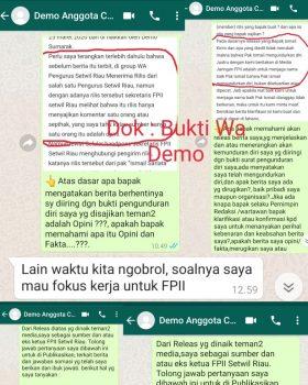 """Pemimpin Redaksi Borgolnews.com dan Nuansadunia.com Diduga Gagal Paham, Ismail Sarlata """"Jujur itu Tidak Sulit dan Lebih Baik Serta Mengurangi Dosa."""""""