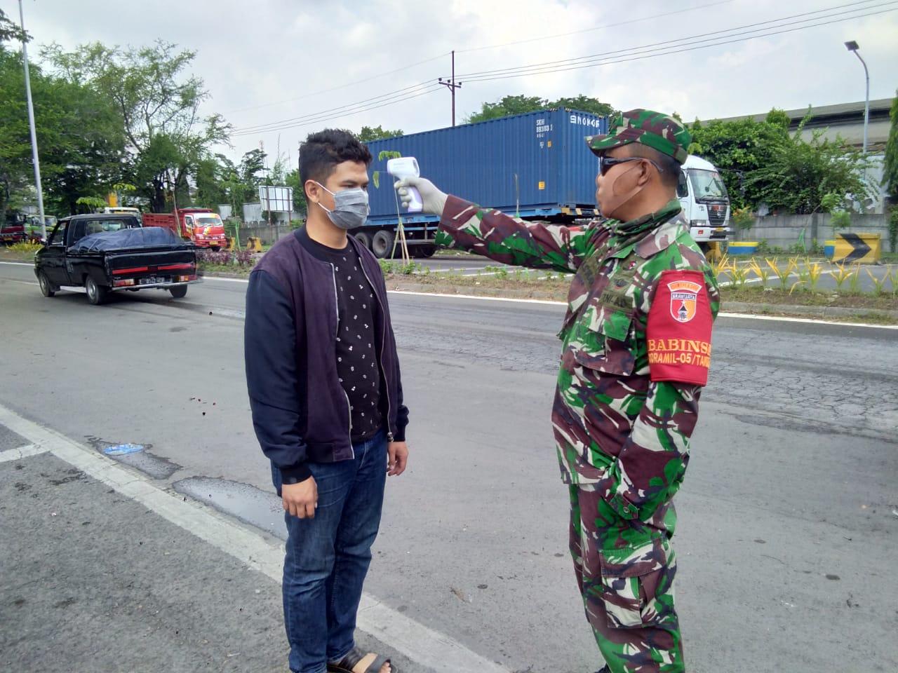 1. Pintu Masuk Surabaya Diperketat