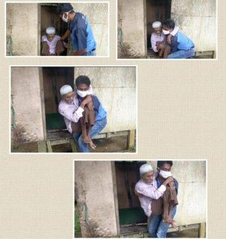 Pemkab Kampar Diduga Tutup Mata Terhadap Pria Tua Renta dan Lumpuh di Desa Sukaramai