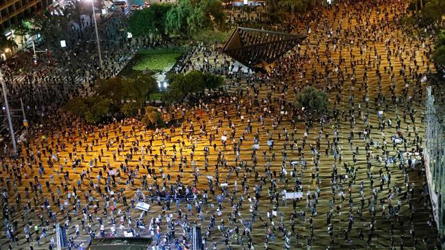Ribuan Pengunjuk Rasa di Tel Aviv