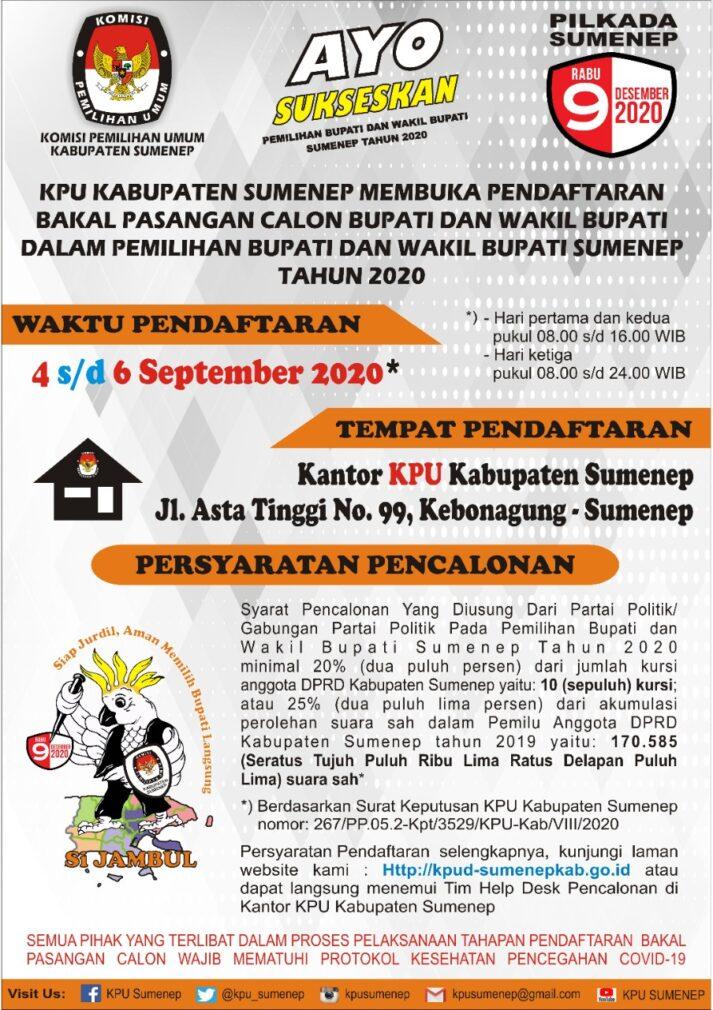 Iklan KPU Sumenep