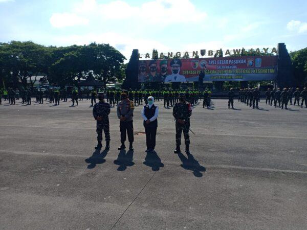 Kodam V Brawijawa Kerahkan Pasukan Tempur untuk PPKM Jilid II