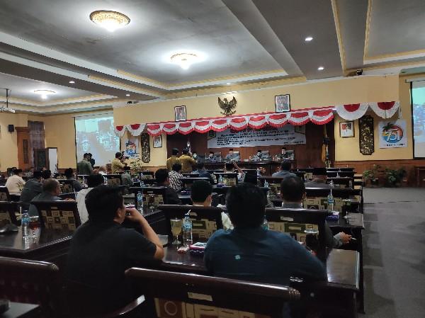 Paripurna DPRD Sumenep Pengumuman Penetapan Bupati dan Wakil Bupati 2021-2024