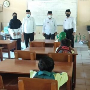 Kepala Kamenag Sumenep Monitoring PTM di Beberapa Madrasah