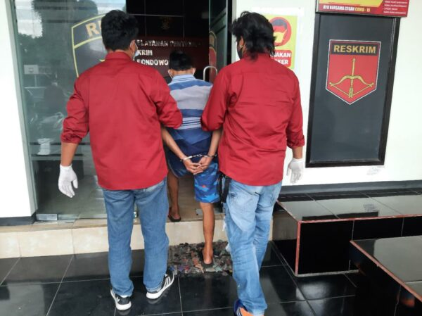 Polres Bondowoso Tangkap Seorang Pelaku Curanmor Spesialis Kunci T