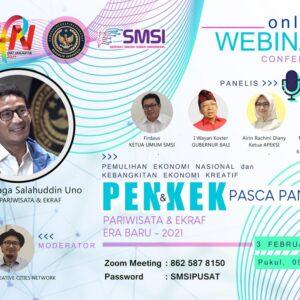 SMSI Gelar Seminar PENKEK Pada Peringatan HPN 2021