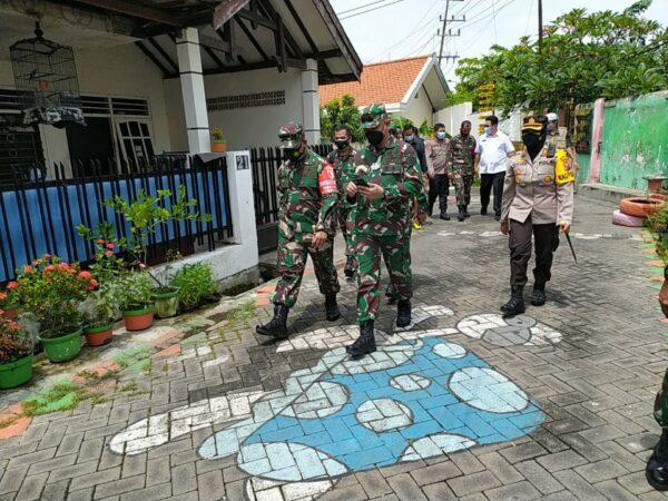 Posko PPKM Mikro di Perak Barat Ditinjau Forkopimda Jatim