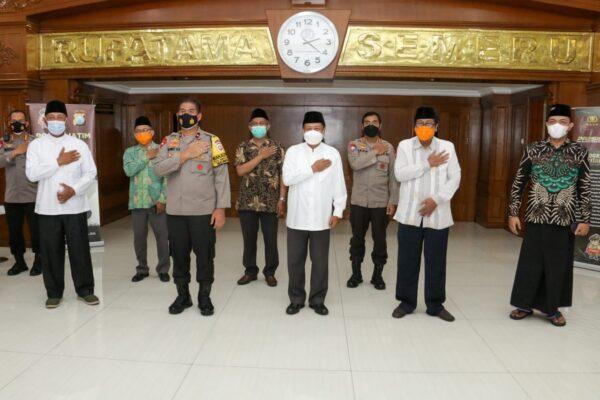 Ini yang Dibicarakan PW DMI Jawa Timur Saat Berkunjug ke Mapolda Jatim