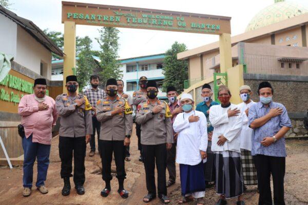 Pondok-Pesanten 08 Tebuiren Serang Dikunjungi Kapolda Banten