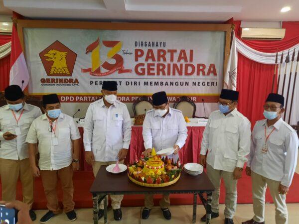 Setyo Budi : Kita Laksanakan Anjuran Pak Prabowo, Kedepankan Kepentingan Masyarakat dan Jangan Takut Difitnah