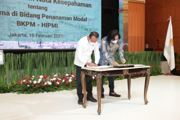 BKPM Gandeng HIMPI Fasilitasi Kemitraan Investor Besar dengan UMKM