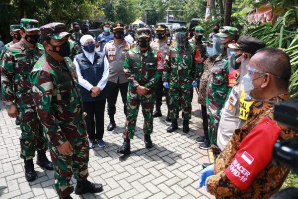 Masuk Zona Merah, Panglima TNI Intruksikan Perketat Prokes dan Bombardir RT