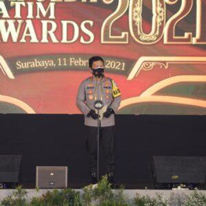 Kapolda Jatim Award 2021, Tetap Tunjukan Sikap Tribrata dan Catur Prasetya