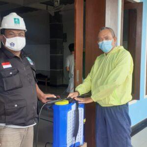 LPBI NU Kota Denpasar Lakukan Penyemprotan Disinfektan di Musholla