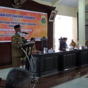 Serahkan 213 SK PPPK, Bupati Salwa Berharap Bekerja Profesional