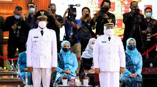 Hari ini Achmad Fauzi-Nyai Hj Dewi Khalifah Resmi Dilantik Sebagai Bupati dan Wakil Bupati Sumenep
