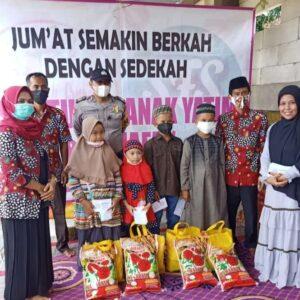 Komunitas Sister Fillah Santuni 50 Anak Yatim
