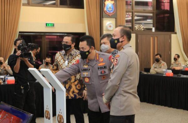 Kapolri Launching Aplikasi Dumas Presisi untuk Wujudkan Transparansi