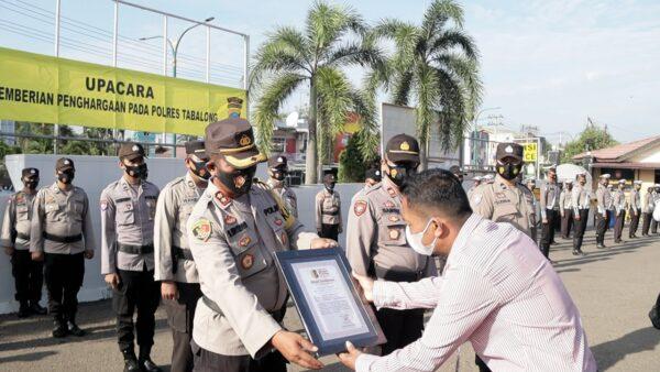 Polres Tabalong Diganjar Bhayangkara Bhakti Perdana Award Atas Kinerjanya