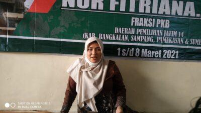 Reses di Sumenep, Ini Pesan Bunda Fitri Kepada Para Jurnalis
