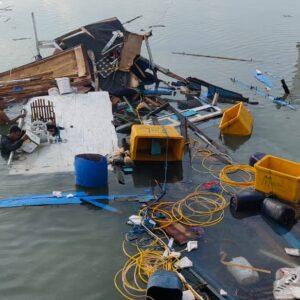 Ini Penyebab Perahu Nelayan di Pulau Raas Meledak Hingga Hancur