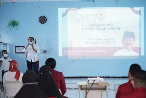 Sosialisasi Empat Pilar MPR RI, Bambang DH: Inisiatif Penentu Terbesar Kemakmuran Bangsa
