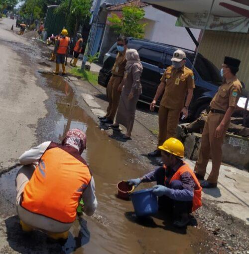 Pemkab Sidoarjo akan Perbaiki Jalan yang Rusak dengan Program PIWK