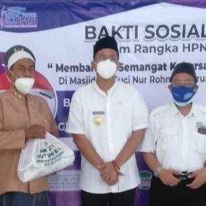 Aksi Sosial SMSI di Masa Pandemi Dapat Dukungan Bupati Sidoarjo