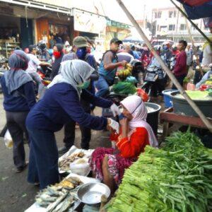 Pedagang di Pasar Anom Sumenep Keluhkan Penurunan Jumlah Pembeli Saat Pandemi Covid-19