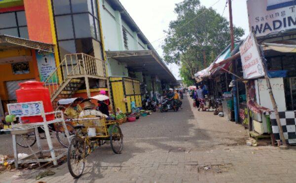 Aktivitas di Pasar Anom Sumenep Benar benar Lumpuh, Begini Keluh Pedagang
