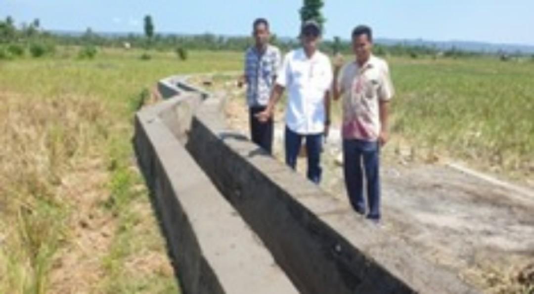 Berita Foto_ Tahap Penyelesaian Pekerjaan P3-TGAI di Sumenep 2