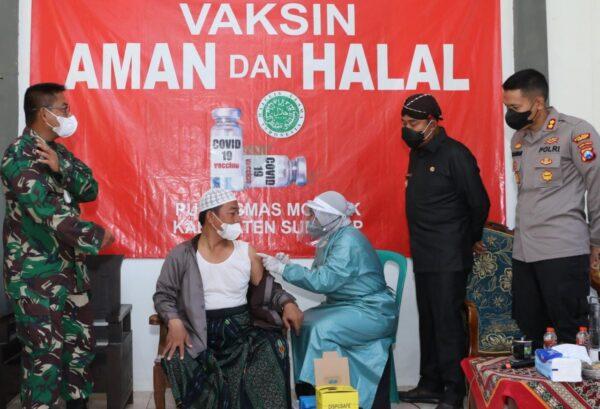 Bupati Sumenep Kembali Cek Vaksinasi di Pondok-Pesantren