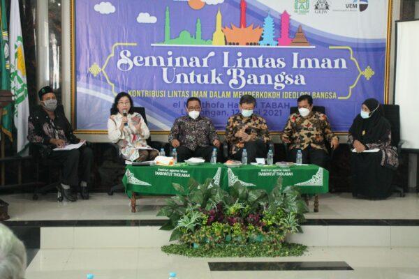 Seminar Lintas Iman untuk Bangsa, Perkuat Solidaritas Lintas Iman Memperkokoh Ideologi Bangsa