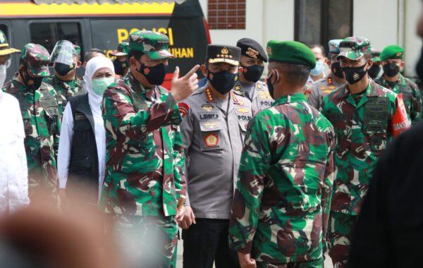 Petugas Penanganan Covid-19 di Bangkalan Mendapat Support Panglima TNI dan Kapolri