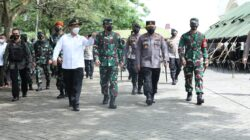 Tinjau Dapur Lapangan, Panglima TNI Pastikan Asupan Gizi Bagi Prajurit