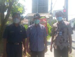 PUPR dan Tim, Survey Lokasi Pelebaran Jalan Perempatan Lampu Merah Terminal Trunojoyo