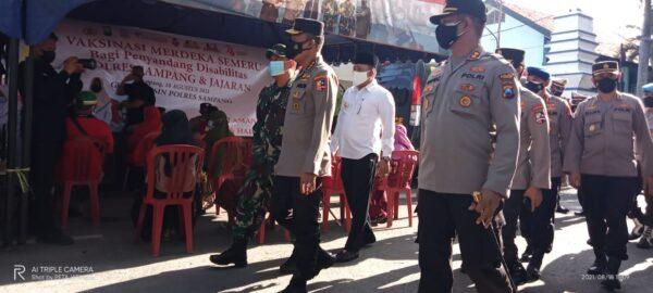 Berhasil Rubah Warna, Irwasum Polri Pantau Pola Penanganan Covid-19 di Sampang