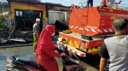 Pom Mini di Sumenep Ludes Terbakar, Kerugian 100 Juta