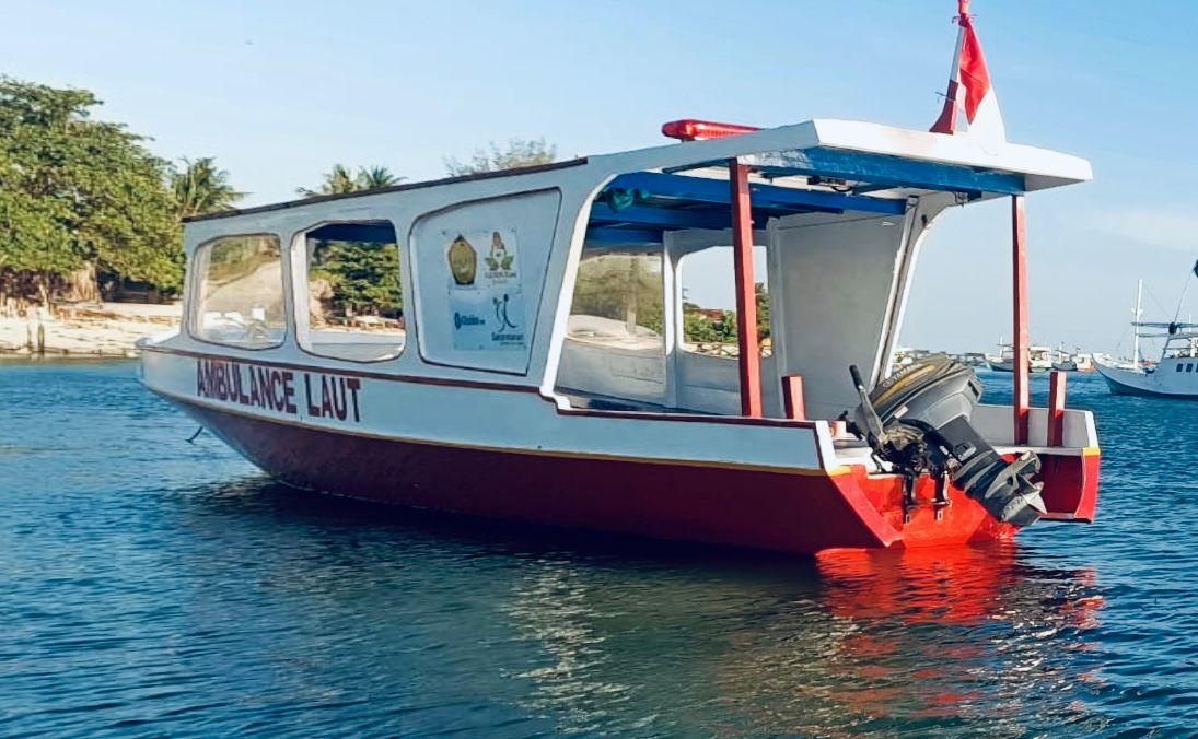 GUSDURian Peduli, Berikan Bantuan Ambulance Laut untuk Warga Kepulauan Sapeken