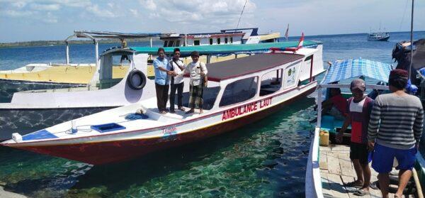 Begini Cerita dan Proses Warga Pagerungan Besar dapat Ambulance Laut dari GUSDURian