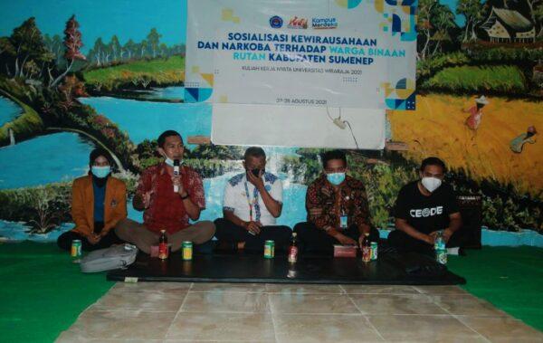 Mahasiswa KKN Unija Madura Motivasi Warga Binaan Rutan Sumenep